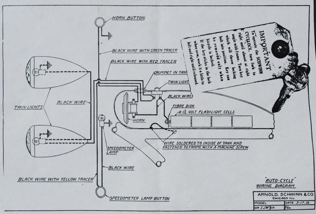 schwinn prewar ladies schwinn prewar autocycle schwinn aerocycle 1934-36